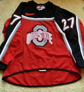 Ohio State Buckeye Women's Hockey Jersey - Vintage - Team Issued WCHA