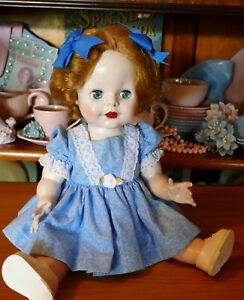 *REDUCED* STRIKING Little Princess style PEDIGREE doll 14 inch 1950's FREE POST!