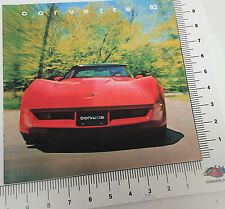 1982 Chevrolet Corvette Collector Edition Dealer Sales Showroom Brochure
