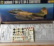 Heller Lockeed F-104G/TF.104G Starfighter 1/72 Scale Model Kit# 273