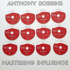 Anthony Robbins - Mastering Influence 12 CD Set - Discs Only - 10 Day System