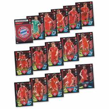 Match Attax 2019/20 FC Bayern München Basiskarten Starspieler Club 16 Karten Set