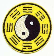 Aufnäher YIN YANG Patch Tai Chi Trigramme Kung Fu Bagua