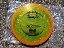 Champion Roc3 Paul McBeth Black Stamp 2012 172g Golf Disc Rare in good condition