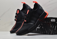 "Adidas NMD R1 Star Wars ""Darth Vader"" Core Black Red FW2282 Running Shoes Men's"
