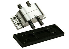 1PC Transfer Case & Mounting Plate for Axial SCX10 1:10 RC Crawler Truck