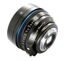 Customized Carl Zeiss Distagon T* 2/25 ZE cine lens cinematics V2 for DSLR Camer