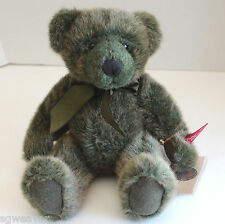 Russ Timperley Vintage Collection Handmade Green Fur Teddy Bear New With Tags