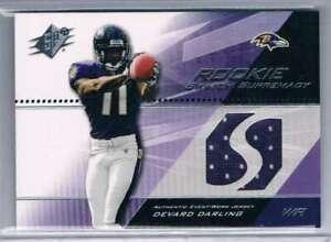 2004 Certified Materials #205 Devard Darling NM-MT NM-MT Rookie Card MEM Ravens