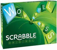 Scrabble Kompakt Mattel Games tolles Familienspiel Y9598 Kreuzwortspiel Englisch