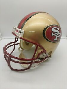 San Francisco 49ers Riddell Helmet excellent size large