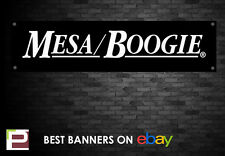 Mesa Boogie Amplifier Banner, for Rehearsal Room, Studio, Garage, Shop,