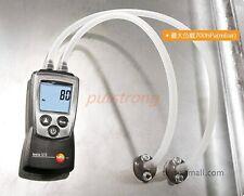 Testo 510 Autoranging Differential Manometer Air Pressure Meter Gauge 0-100hPa