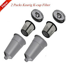 2 Pack My K-Cup Reusable Replacement Coffee Filter Refillable Holder for Keurig