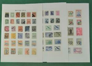 URUGUAY STAMPS ON  11 PAGES  (L28)