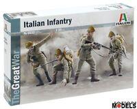 WWI ITALIAN INFANTRY 1915 1/35 Model Kit Figurini The Great War Italeri 6532