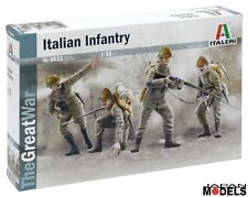 WWI ITALIAN INFANTRY 1915 1/35 Model Kit Figurini The Great War Italeri 6532