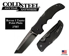 Cold Steel Recon 1 Folding Knife, Tanto Point #27BT