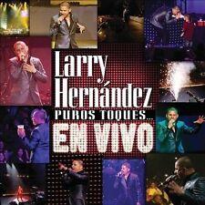 Larry Hernandez : Puros Toques... En Vivo [CDDVD Combo] [ CD