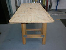 Trestle Table TOP ONLY , excellent for train layout construction, pick up only