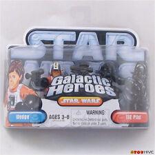 Star Wars Galactic Heroes TIE Pilot and Wedge Antilles 2 figure pack