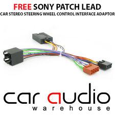 CTSCT002 SONY Citroen Xsara Picasso C2 C3 C5 C8 Car Steering Wheel Stalk Adaptor