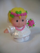 NEW Fisher Price Little People WEDDING BRIDE w/ FLOWERS for Groom Communion Girl