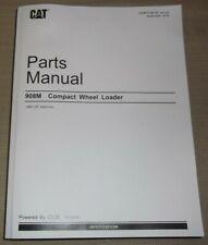 Cat Caterpillar 908m Compact Wheel Loader Parts Manual Set Sn H88 Sebp7498