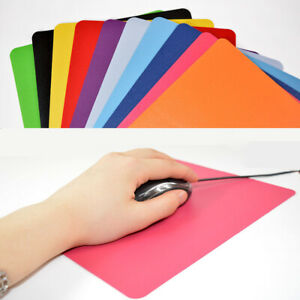 Mouse Pad Ultra-Thin Computer Game Non-Slip Gift Solid Color Odorless Mouse Pad
