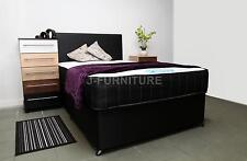 4ft Small Double Bed Luxury Memory Touch 25cm Mattress 2 Drawers Free Headboard