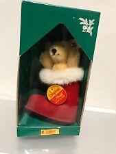 Steiff 670138 Weihnachtsbau-Bär 10 cm. Mit Ovp. Top Zustand.