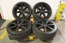"4 x Genuine 18"" Mercedes AMG 7 Spoke C Class W204 Alloys & Tyres Staggered 5x112"