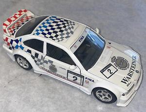 Burango BBurago 1/24 BMW M3 Die-Cast Warsteiner Beer Rally Race Car!