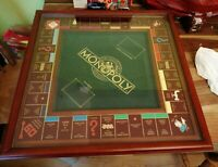 FRANKLIN MINT MONOPOLY DELUXE COLLECTORS EDITION 1991 WITH GLASS LID COMPLETE