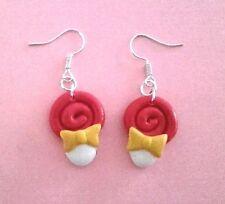 Creazioni in fimo Lollipop lecca lecca fatti a mano Bijoux earrings idea regalo