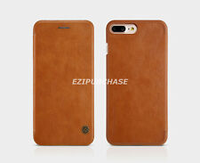 Nillkin Qin Pretective Leather Wallet Flip Card Smart Cover Case For iPhone S001