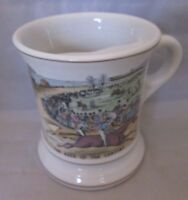 The Race of the Century porcelain Mustache Cup or Mug