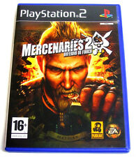 MERCENARIES 2 - INFERNO DI FUOCO - PS2 PLAYSTATION -5030947059040- MODENA