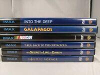 Lot Of 6 Imax Dvd Movie