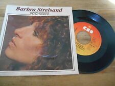 "7"" Pop Barbra Streisand - Memory / Evergreen (2 Song) CBS REC"