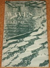 WAVES (water/sound/earthquake etc) - F.J.M. Laver - 1959 hardback book