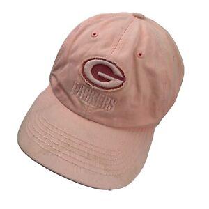 Green Bay Packers Football Pink Women's Ball Cap Hat Adjustable Baseball