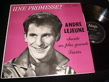 ANDRE LEJEUNE<>GRANDS SUCCES<>LP Vinyl~RARE MONO°Canada Pressing<>ADAGIO 298.003