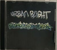 Urban Blight Playgrounds N Glass 1992 CD - Stickman Records Ska Band From Canada