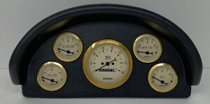 1956 Ford Truck ABS Dash Panel 5 Gauge Mechanical Gold