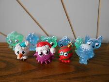 Noël Moshi Monsters Lot de 10 Mini personnage Toy Figures comme indiqué saisonnier