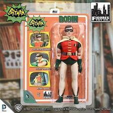 1966 BATMAN TV SERIES 1; 8 INCH FIGURE ROBIN , FIGURES TOY CO NEW MOSC