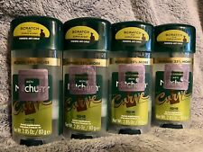 Mitchum Men Curve Antiperspirant/Deodorant Gel BONUS SIZE 2.85 Oz, Lot of 4