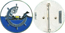 Brevet de Plongeur G.N., grenade 10 flammes, opaque, Boussemart GNS 008 (1273)
