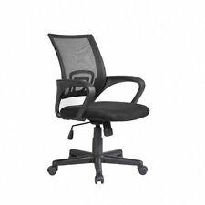 5x Ergonomic Midback Mesh Office Chair Executive Swivel Computer Desk Task Black